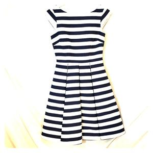 Kate Spade Striped Navy& White Dress Size 00